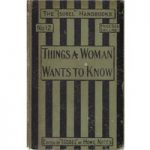 Things a Woman Wants to Know – Isobel Handbook No. 12