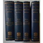 The Politics of Aristotle – W.L. Newman – 1887