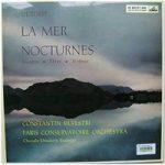 Debussy: La Mer, Nocturnes. Paris Conservatoire Orchestra, Silvestri – ALP 1689