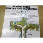 Circles and Sequenzas by Luciano Berio Wergo LP records 1970 2549 020