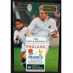 Rugby Programme – 1995 – England vs France (Includes 1 ticket)