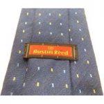 Austin Reed Blue Silk Blend Tie.