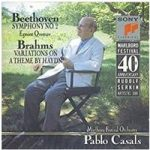 Beethoven Symphony No.2 & Egmont Overture, Brahms Variations on a Theme by Haydn (CD) – Casals, Pablo – SMK 46247