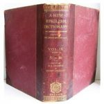 A New English Dictionary on Historical Principles, Volume IX, Part I, SI to ST