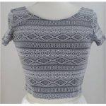 H&M – Size: S – Black – Cap sleeved T-shirt