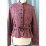 H&M Size: 10 Red Smart jacket / coat