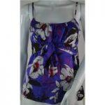 Monsoon size: 8 purple mix floral vest top