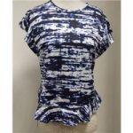 Zara Top Zara – Size: S – Blue – Cap sleeved T-shirt