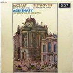 """Mozart, Beethoven, Ashkenazy, London Wind Soloists €Ž€""""Quintet In E Flat, K.452 / Quintet In E Flat, Op.16"""
