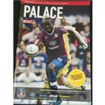 Crystal Palace Programmes 2009 / 10 (12 Total)