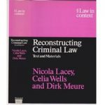 Reconstructing Criminal Law – text and materials