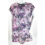 Rock & Rags by Firetrap – Size: S – Purple & Pink Floral Print – T-Shirt