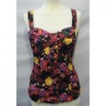 River Island Size: 12 Multi-coloured Sleeveless Top