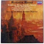 Tchaikovsky, Rimsky-Kosakov, Borodin, Glinka, Mussorgsky – Romantic Russia Solti. Dutoit. Dorati. Ansermet. Martinon – 417 366-1