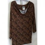 Next – Top – Size 14 – Black & Brown