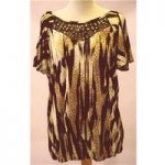 BNWT – Wallis – Size M – Leopard Print Top Wallis – Size: M – Brown – Cap sleeved T-shirt