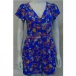 BNWT New Look Trouser Suit – Size – 12 – Blue Floral