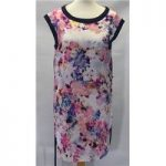 Oasis, size S pink mix floral top