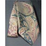 Marlowe Vintage paisley print men's tie – Multi-coloured