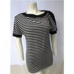 M&S Size 10 Striped Top M&S Marks & Spencer – Size: 10 – Blue