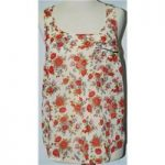 Topshop – Size 8 – Floral Sleeveless Top