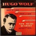 Hugo Wolf Quartet in D Minor / Italian Serenade New Music Quartet – ABL3109