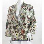 East – Size: 18 – Brown/Green/Beige/Yellow – Jacket