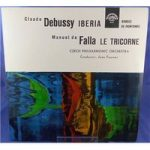 Claude Debussy / Manuel De Falla: Iberia / Rondes De Printemps / Le Tricorne – Jean Fournet – Stereo 50614