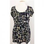 Kaleidoscope – Size: 16 – Multi-coloured – short sleeved Top