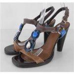 Kurt Geiger – Size 5 – Caramel Brown Heel Sandals
