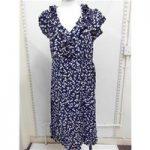 BRAND NEW ROCHA. JOHN ROCHA Blue dress with cherry pattern Rocha. John Rocha – Size: 12 – Black – Long dress