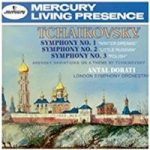 Tchaikovsky: Three Symphonies and Arnensky – Orchestra, London Symphony and Hungarica, Philharmonia (conducted by Antal Dorati)