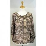 Limited Collection size 12 brown and pink sheer top Limited Collection – Size: 12 – pink