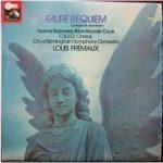 Faure: Requiem. City of Birmingham Symphony Orchestra, Fremaux. – ASD 3501