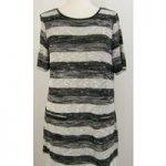 Grabal Alok Originals – Size: 16 – Black/white stripe – Long Top