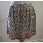 New Look – Pink/Black – Mini skirt – Size: 16
