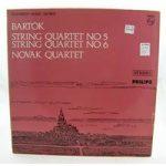 Bartok: String Quartet Nos 5,6 – Novak Quartet – SAL 3694