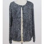 NWOT M&S Collection – Size: 20 – Black & Silver- Cardigan