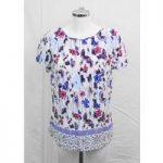 Per Una multicoloured patterned top Size 12