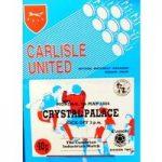 Carlisle United v Crystal Palace – Division 2 – 7th May 1984