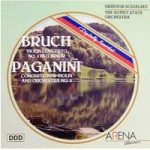 "Violin Conc. 1 – Bruch (one of very best v.conc.'s) / Conc. for Violin & Orch. – Paganini (violin ""gymnastics"" & mastery) CD"