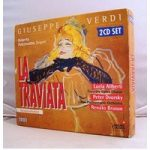 "La Traviata – Verdi (1853 opera concerning ""fallen"" Parisian beauty & lover 2 CDs)"