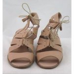 NWOT Indigo Collection, size 5 nude leather sandals