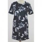 BNWT Next – Size: 10 – Black graphic print floral dress