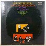 Brahms – The Three Piano Quartets / Schumann – Piano Quintet Op 44 – Artur Rubenstein, The Guarneri Quartet – SER 5628/30