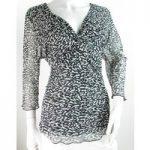 BNWT – Kaliko – Size: 18 – Black/White – Top