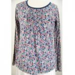 Fat Face – Size: 12 – Long-sleeved – Floral Print Top