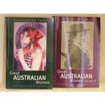 Great Australian Women volumes I and II