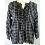 Gap – Size: 12 – Grey – 3/4 length sleeved top