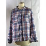 Dorothy Perkins – Women's Top – Size: 12 – Blue | Red Check patterned shirt GA